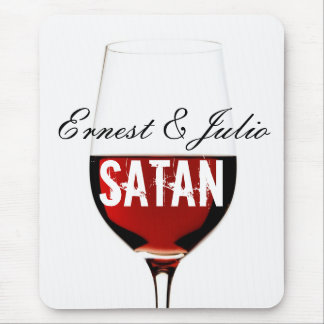 Ernest & Julio Satan Mouse Pad
