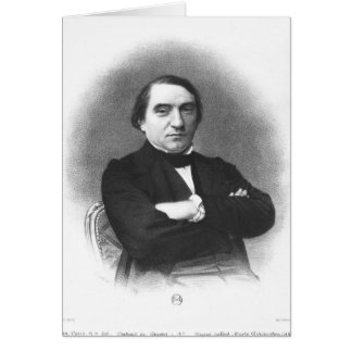 Ernest Renan after a photograph by Pierre Greeting Cards