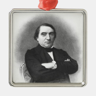 Ernest Renan after a photograph by Pierre Christmas Ornament