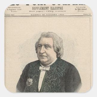 Ernest Renan Square Sticker