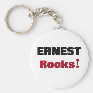 Ernest Rocks Keychain