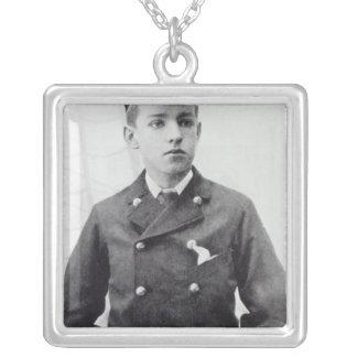 Ernest Shackleton Silver Plated Necklace