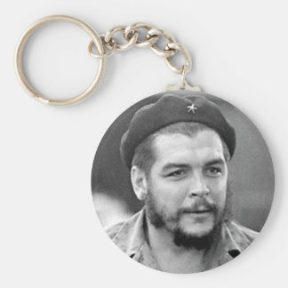 Ernesto Che Guevara Basic Round Button Key Ring