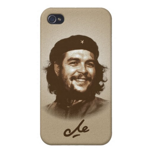Ernesto Che Guevara Smile iPhone 4/4S Covers
