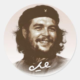 Ernesto Che Guevara Smile Round Sticker
