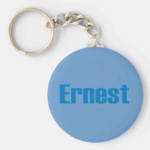 Ernest's key chain