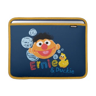 Ernie and Duckie Bubbles MacBook Sleeve