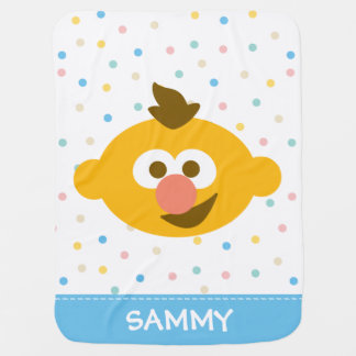 Ernie Baby Face | Add Your Name Baby Blanket