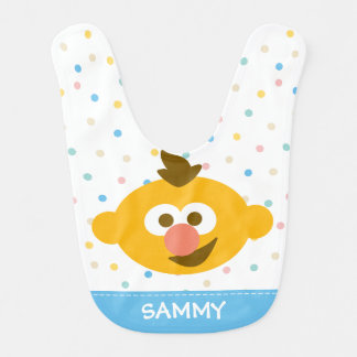 Ernie Baby Face | Add Your Name Bib