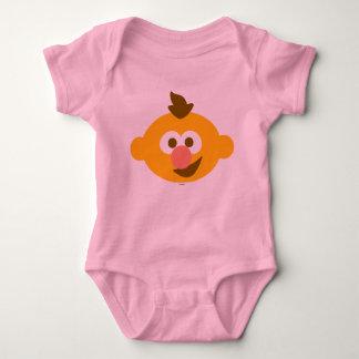 Ernie Baby Face Baby Bodysuit