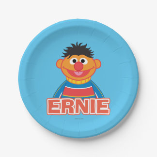 Ernie Classic Style 7 Inch Paper Plate