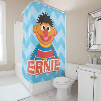 Ernie Classic Style Shower Curtain