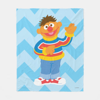 Ernie Graphic Fleece Blanket