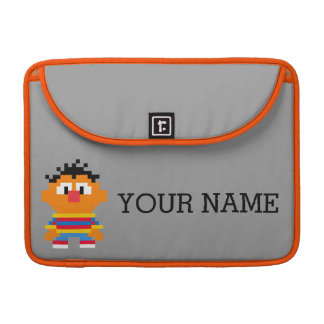 Ernie Pixel Art | Add Your Name Sleeve For MacBooks