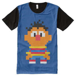 Ernie Pixel Art All-Over Print T-Shirt