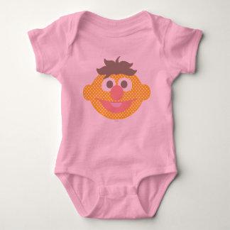 Ernie Polka Dot Big Face Baby Bodysuit