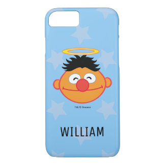 Ernie Smiling Face with Halo | Add Your Name iPhone 8/7 Case