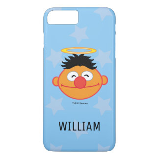 Ernie Smiling Face with Halo | Add Your Name iPhone 8 Plus/7 Plus Case