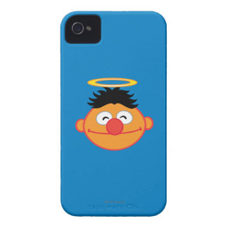 Ernie Smiling Face with Halo iPhone 4 Case-Mate Case