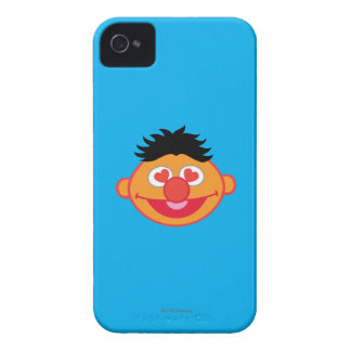 Ernie Smiling Face with Heart-Shaped Eyes iPhone 4 Covers