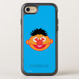 Ernie Smiling Face with Heart-Shaped Eyes OtterBox Symmetry iPhone 8/7 Case