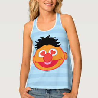Ernie Smiling Face with Heart-Shaped Eyes Tank Top