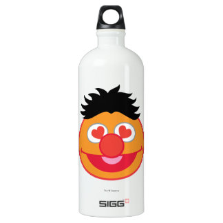 Ernie Smiling Face with Heart-Shaped Eyes Water Bottle