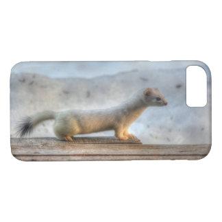 Ernie the Determined Ermine (Weasel) Wildlife iPhone 8/7 Case
