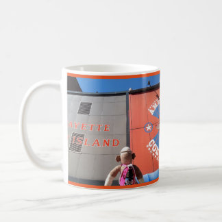 Ernie the Sock Monkey Detroit Coney Dilemma Mug