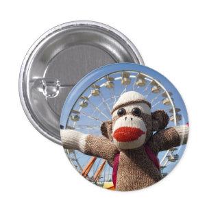 Ernie the Sock Monkey Ferris Wheel Pin