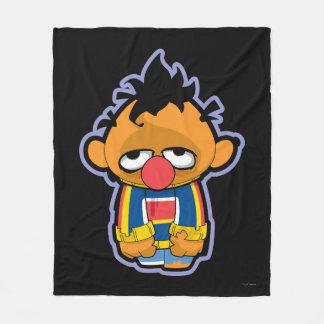 Ernie Zombie Fleece Blanket
