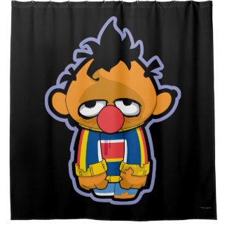 Ernie Zombie Shower Curtain