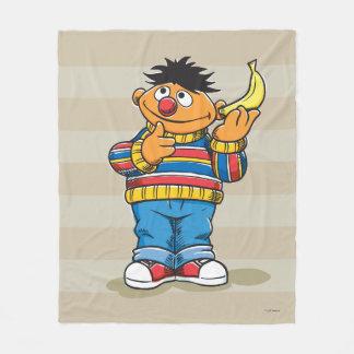Ernie's Bananas Fleece Blanket