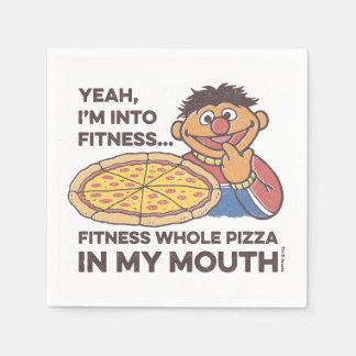ErnieYeah, I'm into Fitness Paper Napkin