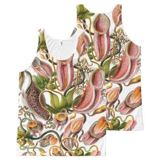 Ernst Haeckel Art Print:flowers All-Over Print Tank Top