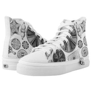 Ernst Haeckel Diatomea Shoes