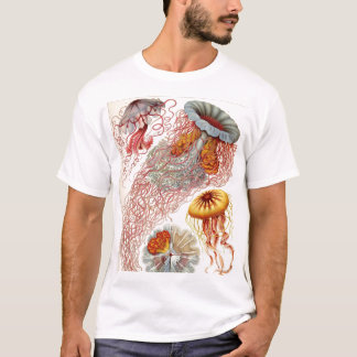 Ernst Haeckel - Discomedusae Tshirt