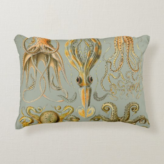 Ernst Haeckel Gamochonia Print Octopus & Squid Art