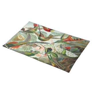 Ernst Haeckel Hummingbirds - Art Forms of Nature Placemat