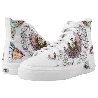 Ernst Haeckel Peromedusae Jellyfish Shoes