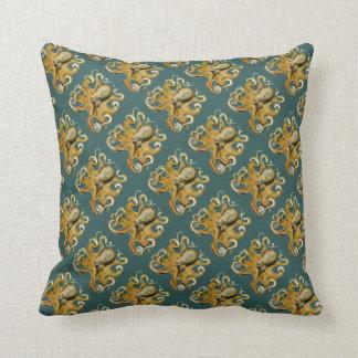 Ernst Haeckel's Octopus Cushion