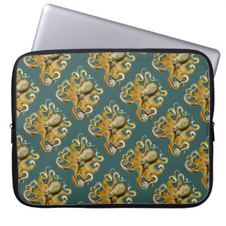 Ernst Haeckel's Octopus Laptop Sleeve
