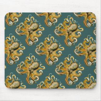 Ernst Haeckel's Octopus Mouse Mat