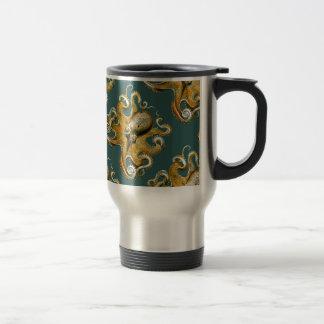 Ernst Haeckel's Octopus Travel Mug
