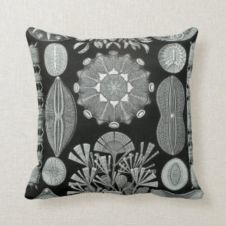 Ernst Haeckel throw pillow