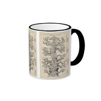 "Ernst Haeckel's ""tree of life"" Ringer Coffee Mug"
