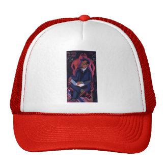 Ernst Kirchner-Portrait of Dealer Manfred Shames Mesh Hats