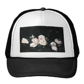 Ernst Ludwig Kirchner- Pink Roses Hats