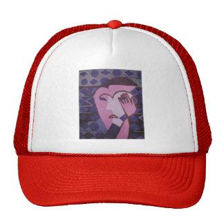 Ernst Ludwig Kirchner- Sad Female Head Trucker Hat