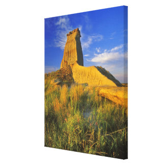 Eroded Monument in the Little Missouri Canvas Print